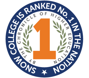 Snow College is Ranked #1 In the Nation